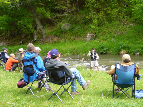 Two day fly fishing school in wisconsin lessons events for Chicago fly fishing outfitters
