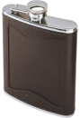 1008/Filson-Bridle-Leather-Stainless-Steel-Hip-Flask