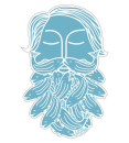 4600/Loon-Bearded-Sticker