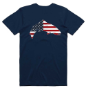4987/Simms-Trout-USA-T-Shirt