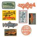 5817/Fishpond-Freshwater-Sticker-Bundle