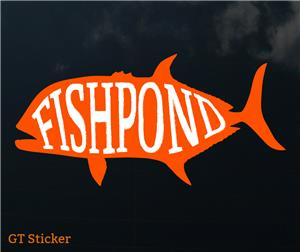 Fishpond GT Sticker
