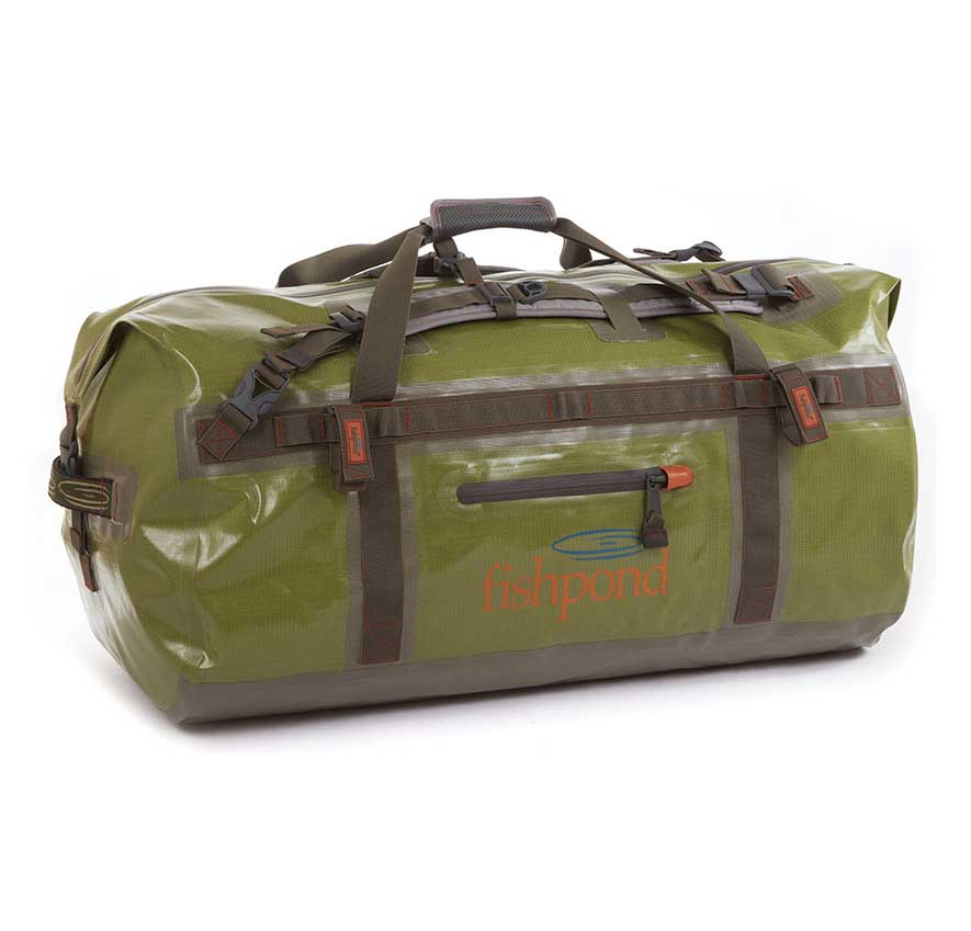 Fishpond westwater large zippered duffel bag luggage for Fly fishing luggage
