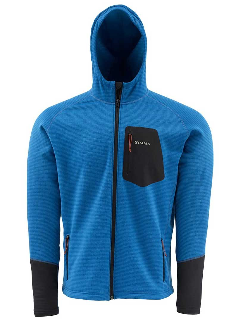 Simms axis hoody apparel chicago fly fishing for Fly fishing hoodie