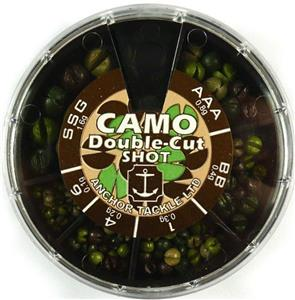 Anchor double cut camo shot selection accessories for Chicago fly fishing outfitters