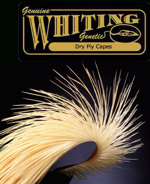 Whiting dry fly capes fly tying chicago fly fishing for Chicago fly fishing outfitters