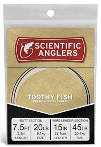 Scientific Anglers Toothy Fish Wire Leaders